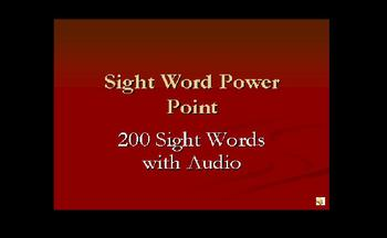 Sight Word Power Pt. - 200 Words with Audio