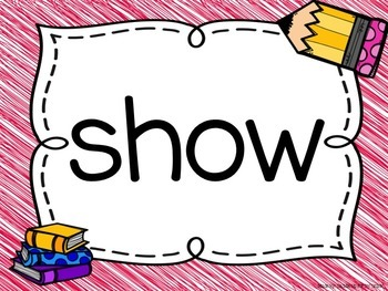 Sight Word PowerPoint (All Words)