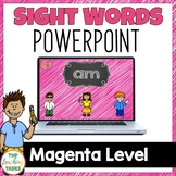New Zealand Sight Words Magenta Level Powerpoint Presentation
