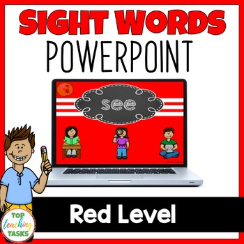 New Zealand Sight Words Red Level Powerpoint Presentation