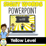 New Zealand Sight Words - Yellow Level Powerpoint Presentation