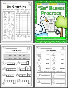 SW Blend Practice Printables Pack
