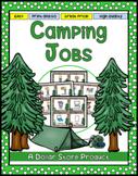 Camping Theme Classroom Jobs / Helpers (EDITABLE)