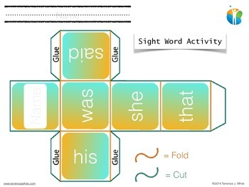 Sight Word Practice (free sample)