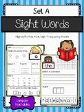 Sight Word Practice - 2 Pages for Each Word!