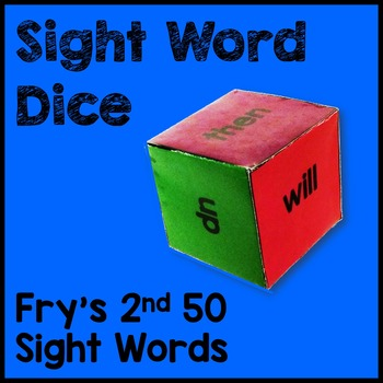 Fry's 2nd 50 Sight Word Dice Games