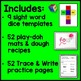 Dolch Primer Sight Word Bundle (Play-Doh Mats, Dice, Tracing Sheets)