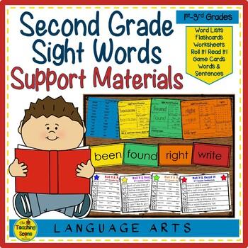 Sight Word Practice: 2nd Grade