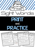 Sight Word Practice {2nd Grade Dolch Words}