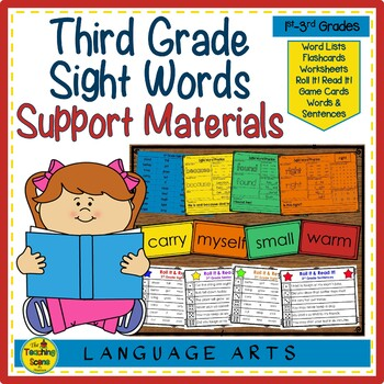 Sight Word Practice: 3rd Grade
