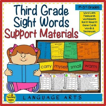 Sight Word Practice: 3rd Grade