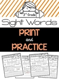 Sight Word Practice {3rd Grade Dolch Words}