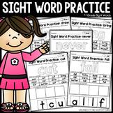 Sight Word Practice (3rd Grade Words)