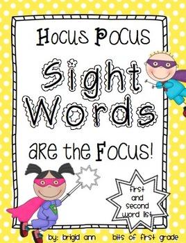 Sight Word Practice Activities Set 2