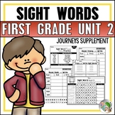 Journeys Sight Word Practice First Grade Unit 2