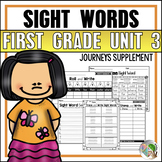 Sight Word Practice (Journeys 1st Grade Unit 3 High Frequency Words Supplement)