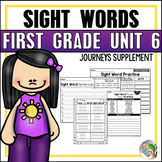 Journeys Sight Word Practice First Grade Unit 6