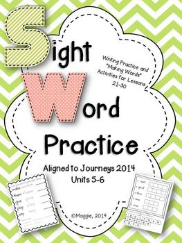 Sight Word Read, Trace and Build 2