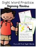 Sight Word Reading Comprehension {Beginning Readers}
