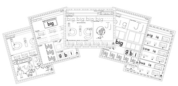 Sight Word Practice - Big