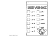 Sight Word Practice Book with 220 Dolch Words