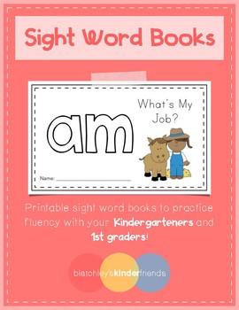 Sight Word Practice Books [am]