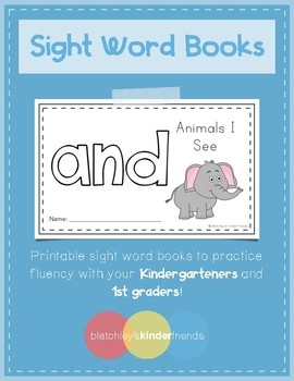 Sight Word Practice Books [and]