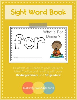 Sight Word Practice Books [for] *FREEBIE*
