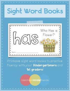 Sight Word Practice Books [has]