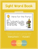 Sight Word Book - HERE