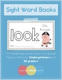 Sight Word Practice Books [look]