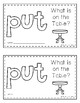 Sight Word Practice Books [put]