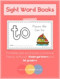 Sight Word Practice Books [to]