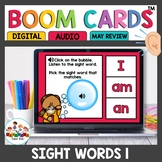 Sight Word Practice Boom Cards Set 1