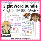 Sight Word Practice Bundle - Fry's 1st, 2nd, and 3rd 100 -