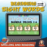 Sight Word Practice Bundle for Distance Learning