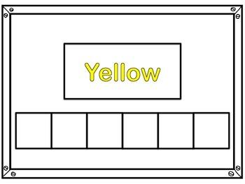 Sight Word Practice Cards Kindergarten List 1