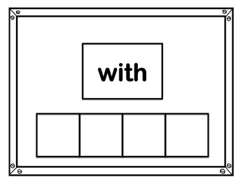 Sight Word Practice Cards Kindergarten List 3