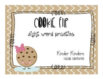 Sight Word Practice - Cookie Flip