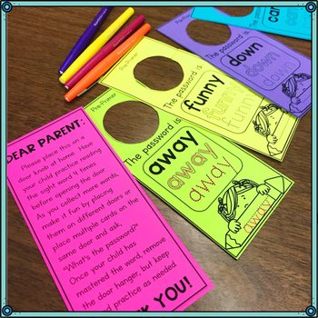 Sight Word Homework Set 2
