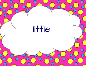 Sight Word Practice First {PowerPoint}