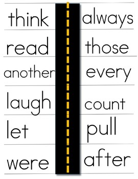 Free Sight Word Practice Fun