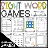 Sight Word Practice Games