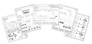 Sight Word Practice - Have