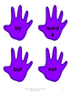 Sight Word Practice- High Five Sight Words
