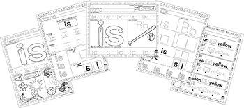 Sight Word Practice - Is