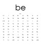 Sight Word Practice - List 2