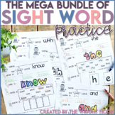 Sight Word Practice MEGA BUNDLE Distance Learning