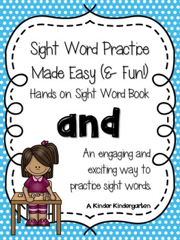 Sight Word Practice Made Easy (and FUN!) - AND