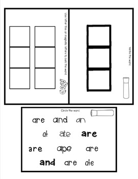 Sight Word Practice Made Easy (and FUN!)  - ARE